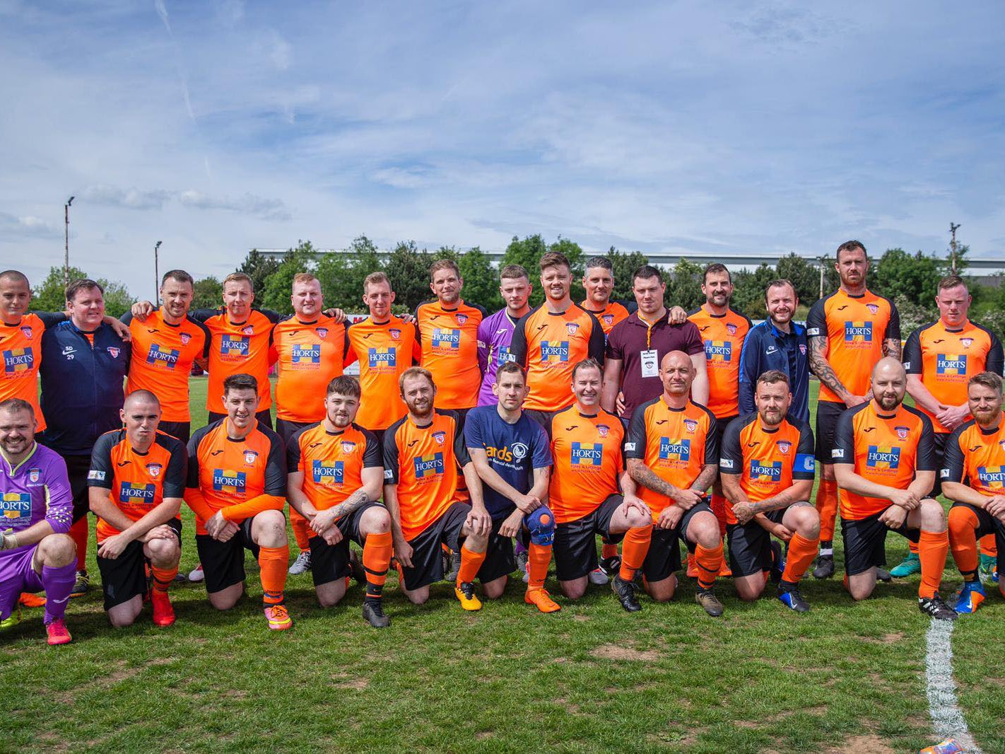 Meet the Football Team Bringing Bereaved Fathers Closer Together